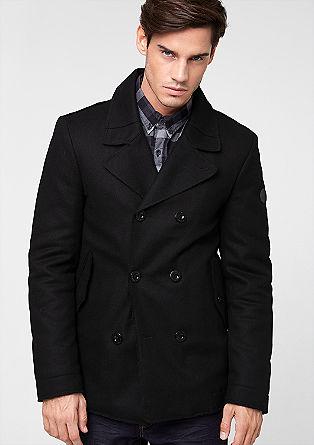 Jacke aus Woll-Mix