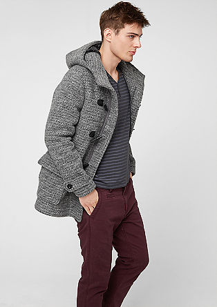 Jacke im Dufflecoat-Stil