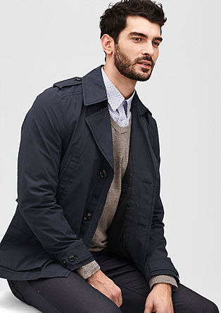 Jacket in a trench coat style from s.Oliver