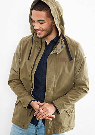 Jacket with a casual hood from s.Oliver