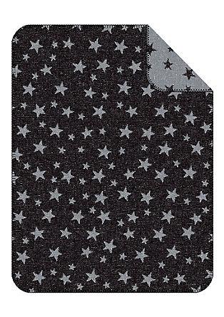 Jacquard-Decke mit Sternen