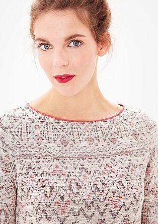 Jacquard-Sweater im Ethno-Style