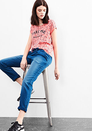 Jeans in a boyfriend style from s.Oliver