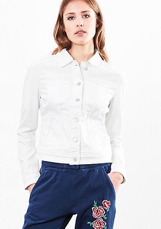 Jeans jakna s strečem