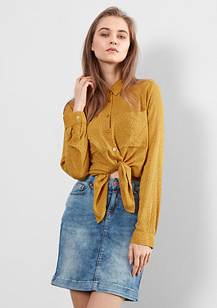 Jeans krilo marogasto spranega videza