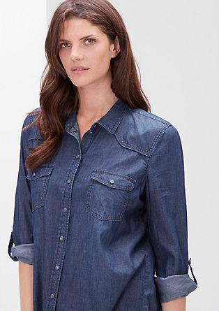 Jeans srajca s pritiskači