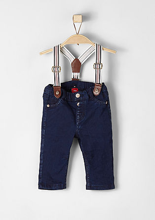 jeans with braces from s.Oliver