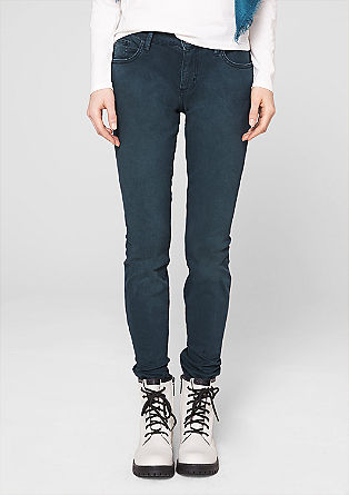 Jeggings: coloured denim jeans from s.Oliver