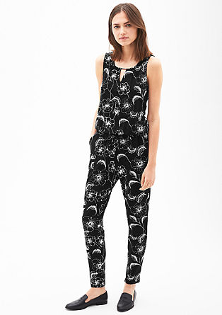 Jersey jumpsuit from s.Oliver