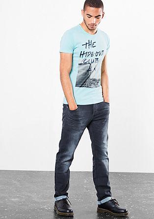 Jersey shirt met een fotoprint