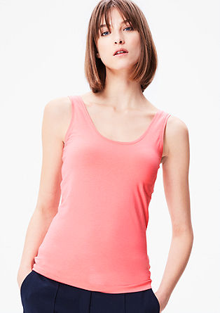 Jersey tank top from s.Oliver