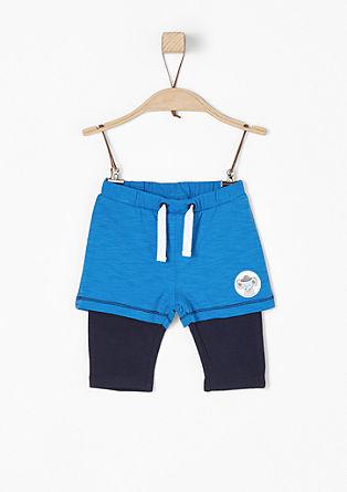 Jerseyhose im 2-in-1-Look