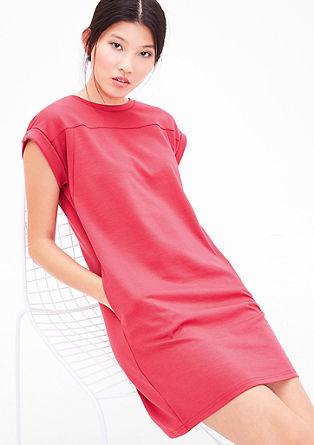 Jerseykleid mit Abnähern