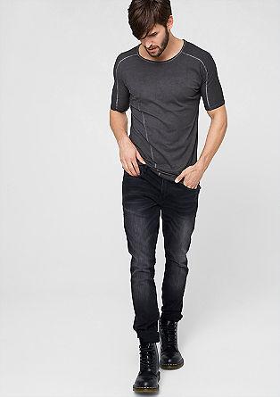 Jerseyshirt im Long-Style