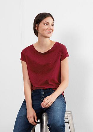 Jerseyshirt mit Allover-Print