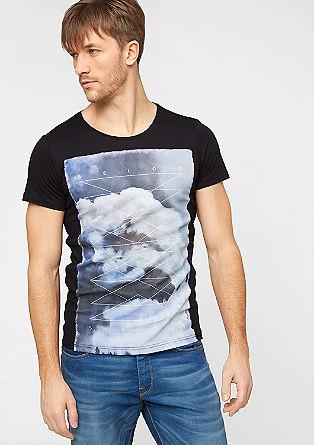 Jerseyshirt mit Foto-Frontprint