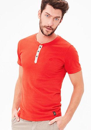 Jerseyshirt mit Strukturmuster