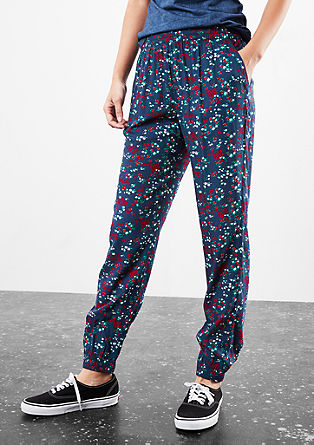 Jogger met all-over print