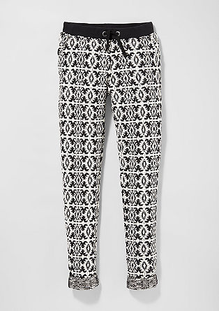 Jogging Pants aus Strick