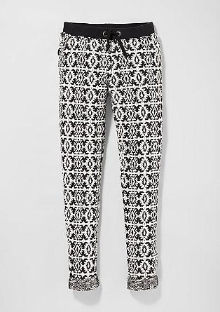 Jogging Pants aus Strick
