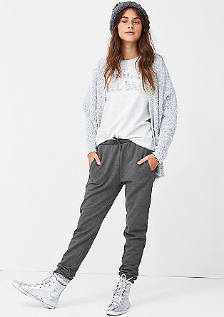 Jogging Pants mit toniger Bordüre