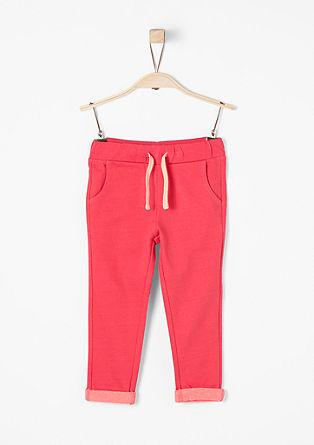 Jogging style pants met koord