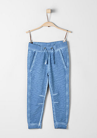 Joggingbroek in washed-out-look