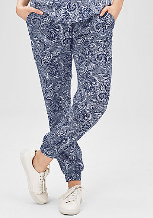 Joggingbroek met all-over print