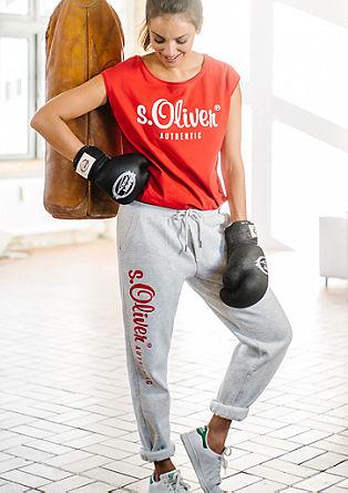 Joggingové kalhoty z kolekce s.Oliver AUTHENTIC