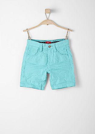 John: Bermuda hlače s tkanim karirastim vzorcem