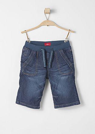 John: Sweat-Bermuda im Jeans-Look