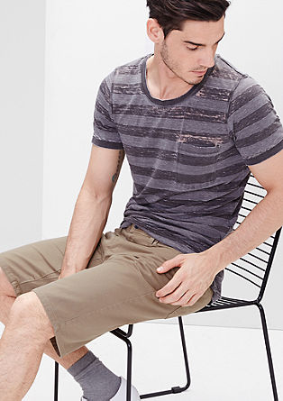 John Loose: bermuda hlače iz obarvanega jeansa