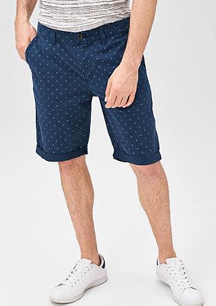 John Loose: Bermuda hlače z drobnim vzorcem