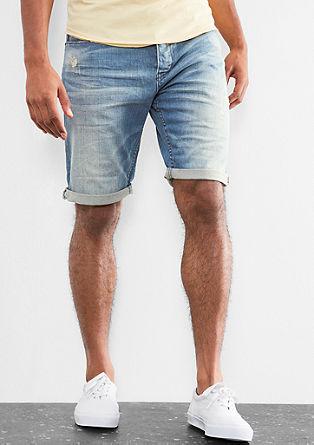 John loose: jeans met een used look