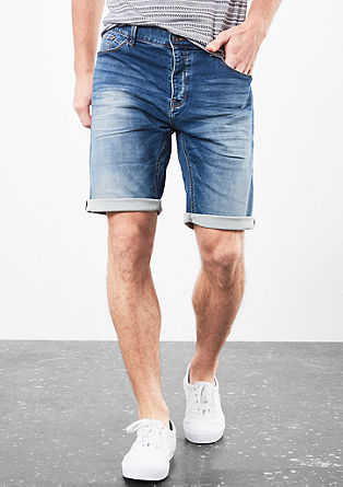 John Loose: Soft denim Bermudas from s.Oliver