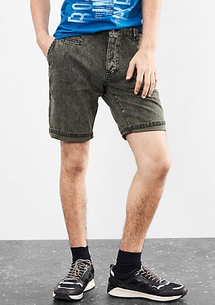 John Loose: Washed-out Bermudas from s.Oliver