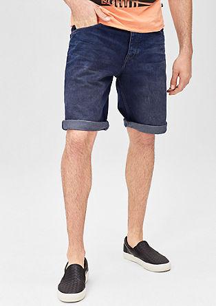 John Loose:bermuda hlače iz obrabljenega jeansa