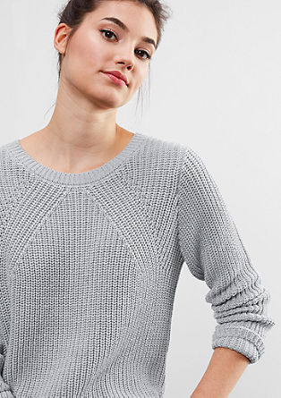 Jumper in a textured knit from s.Oliver