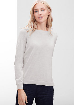 Jumper in merino wool from s.Oliver