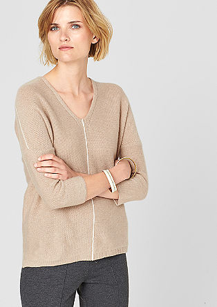 Jumper made from pure cashmere from s.Oliver