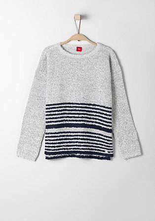 Jumper with stripes from s.Oliver