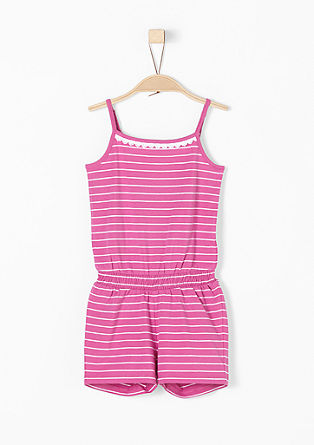 Jumpsuit in a striped design from s.Oliver