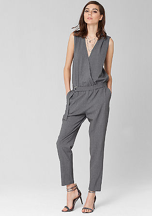 Jumpsuit with a belt from s.Oliver