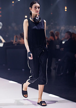 Jumpsuit with contrasting stripes from s.Oliver