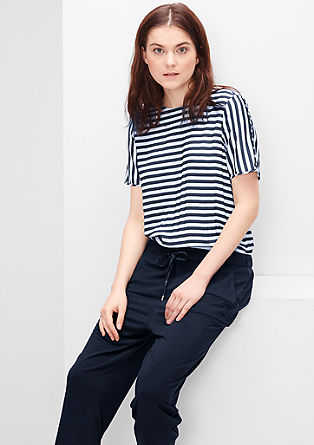 Jumpsuit with stripes from s.Oliver