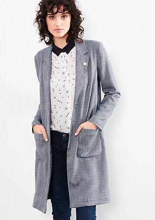 Kabát ve stylu boyfriend