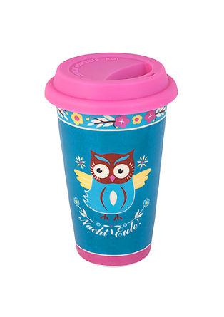 Kaffeebecher 'Nachteule'