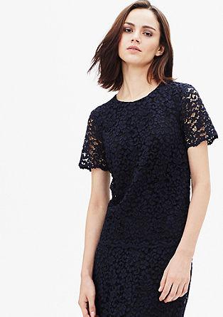Kanten blouse van katoen
