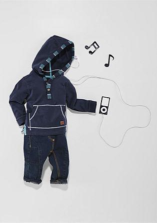 Kapuzenshirt mit Tasche