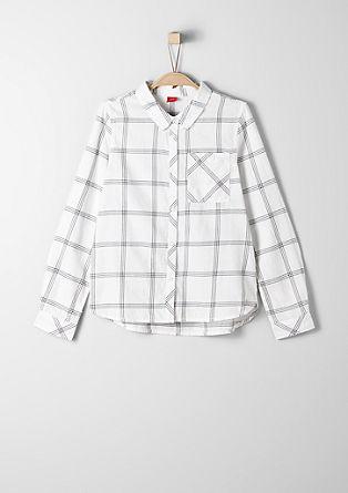 Karirasta bluza iz fine flanele